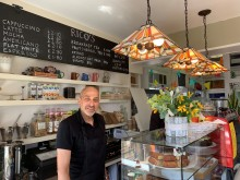 Enjoy speciality coffee with a quirky twist at St Neots station