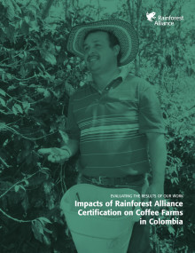 Impacts of Rainforest Alliance Certification on Coffee Farms in Colombia
