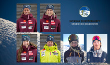 Fyra alpina- och två freeski-åkare uttagna till OS i PyeongChang