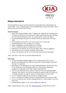 Bakgrundsmaterial Kia Optima Plug-in Hybrid