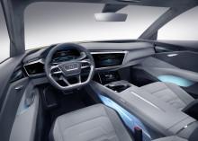 Ny brintbil fra Audi: Audi h-tron quattro concept