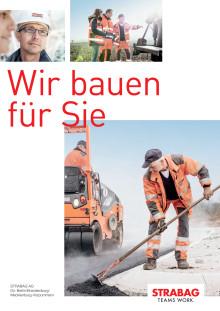 STRABAG AG: Wir bauen für Sie!