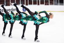 Kvaltävling 2 i synkroniserad konståkning, Borås