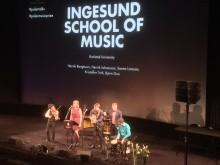 Musikhögskolan Ingesund hyllar Sting och Wayne Shorter under Polarpriset