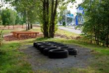 Ny hinderbana på Rosenlund invigs