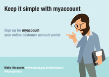 New online account service for Moray Council customers