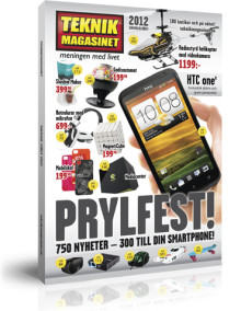 Prylfest i Teknikmagasinets nya katalog!