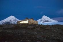 Norwegens coolste Hütte: Offen für Wanderer und Skifahrer