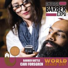 """Hon representerar Stockholm i tävlingen om """"Årets barberare 2017"""""""