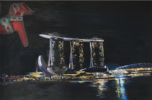 """The Swedish Embassy in Singapore is pleased to present the art exhibition """"A fusion of Sweden and Singapore""""  - a celebration of the 50th anniversary of the close and rewarding Diplomatic cooperation between Singapore and Sweden"""