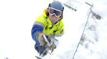 Avisning, en del av vardagen för vintersveriges okända hjältar – skidpatrullörerna!
