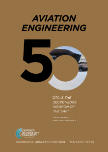 Defence Technology Community's 50th Anniversary Commemorative Book - Aviation Engineering