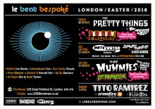 Le Beat Bespoke Festival 2018 - Easter Weekend: The Mummies, The Pretty Things, Tito Ramirez , The Fuzillis, The Dreads, The Baron Four, Johnny Throttle, The Jack Cades  | Dirty Water Club