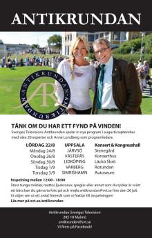 Antikrundan kommer till Uppsala - Tänk om du har ett fynd på vinden
