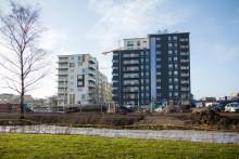 Inflyttningsfest för Göteborgs nya stadsdel
