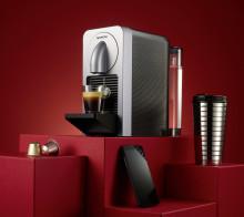 Prodigio - den første Nespresso-maskinen med trådløs tilkobling