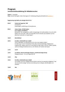 Program Immaterialrättsutbildning 20121101