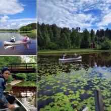 Nu kan du paddla kanot på Sidsjön med Sundsvalls kommun och Friluftsfrämjandet