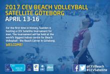 Historisk Europatourtävling i beachvolleyboll