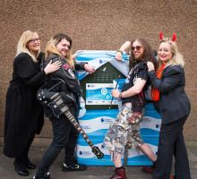 Digital Scotland Superfast Broadband Rock'n'Rollout with BONFEST in Kirriemuir