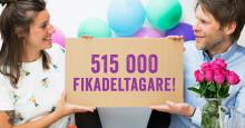 Växjö kommun fikatätast i Kronobergs län