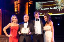Steen & Ströms Emporia prisad på RLI Global Awards i London