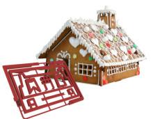 CutterKit formar till pepparkakshus - Enklare husbygge med smarta mått.