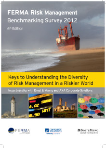 FERMA Risk Management Benchmarking Survey 2012
