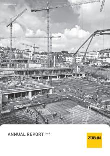 Annual Report ZÜBLIN (2013)