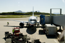 Vekst i trafikken ved Bodø Lufthavn
