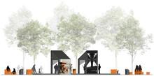 Invigning av återbrukad paviljong med AR-upplevelse för Hallands Konstmuseum