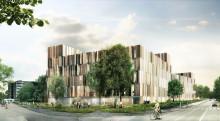 LINK arkitektur ritar  ny vårdbyggnad vid Helsingborgs lasarett
