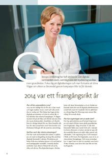 Gleerups i Berling Medias årsredovisning 2014