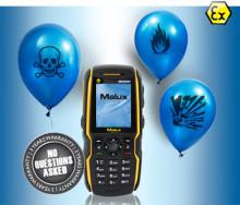 Mobiltelefon Ex-Handy 07 - nu med längre garanti!