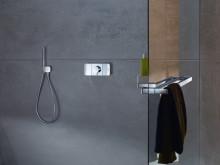 Axor One: Et nytt, intuitivt betjeningselement til dusjen, designet av Barber & Osgerby