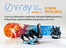 V-Ray for Rhinoceros tarjous