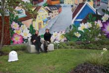 Skuggspel & Viskningar – en konstutställning i trädgårdarna på Astrid Lindgrens Näs
