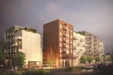 Wästbygg får markanvisning för 100 lägenheter i Haninge