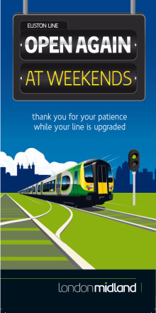 Get back on the rails – it's the weekend!