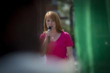 Annie Lööf kampanjar i Göteborg och presenterar ny satsning för renare stränder