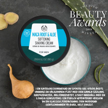 Årets Groomingprodukt - The Body Shops Maca Root & Aloe Softening Shaving Cream for Men!