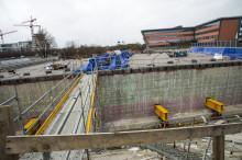 5 000 ton betong ska flyttas 60 meter