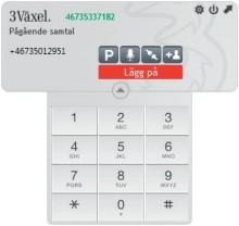 3 lanserar 3Växel Softphone - din mobil i datorn