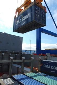 Ny containerlinje till Norrköpings hamn