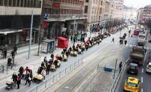 Barnvagnsmarschen i Stockholm mot mödradödlighet
