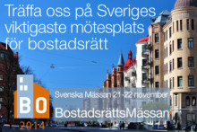 SafeTeam ställer ut på BostadsrättsMässan i Göteborg 21-22 nov 2014