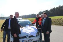 Erweiterung der Erdgasversorgung in der Gemeinde Wackersdorf - Erschließung der Ortsteile Meldau und Mappenberg