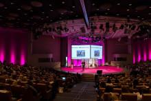 Skolsköterskor satte rekord i Kongresshallen på Stockholm City Conference Centre