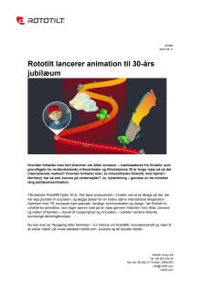 Rototilt lancerer animation til 30-års jubilæum
