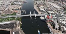 Viktiga milstolpar passerade för nya Hisingsbron